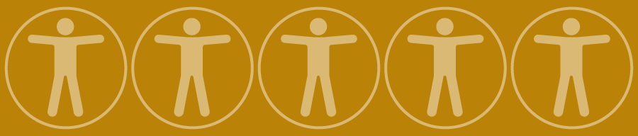 Web Accessibility Logo (human figure with hands outstretched)